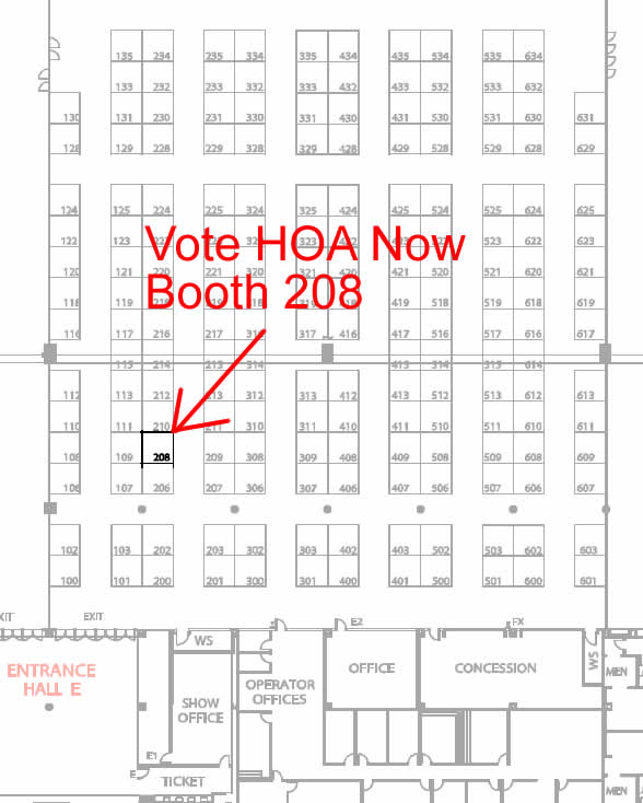 Booth/Floor Map